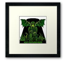 Keep Portland Eldritch Framed Print