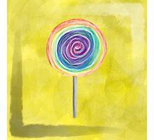 Lollipop Photographic Print
