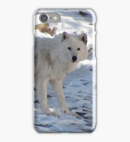 Lady of the Snow iPhone Case/Skin