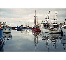 Winter—Victoria Dock, Hobart Photographic Print