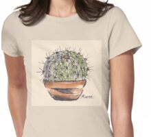 Cactus love (Echinopsis) Womens Fitted T-Shirt