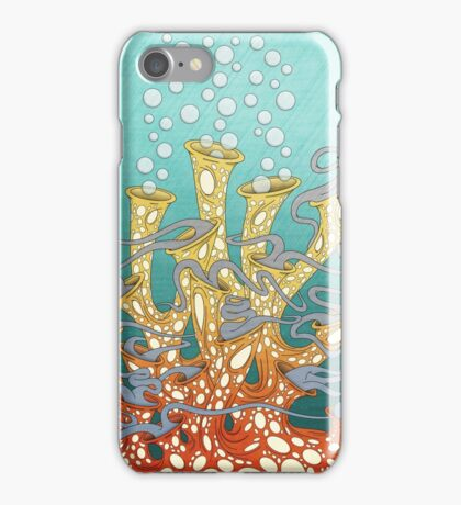 Dancing Coral Party iPhone Case/Skin