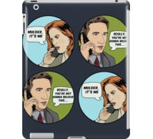 Pop Mulder iPad Case/Skin
