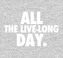 All The Live-Long Day One Piece - Short Sleeve