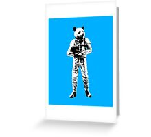 Panda Astronaut Greeting Card