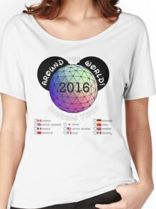 Drink Around the World Drinking Team 2016 Women's Relaxed Fit T-Shirt