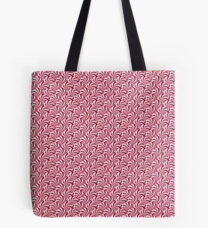 Christmas Peppermint Candy Tote Bag