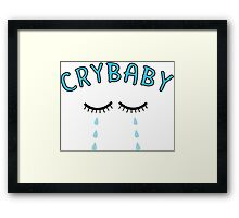 Cry Baby Tears Framed Print