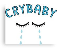 Cry Baby Tears Canvas Print