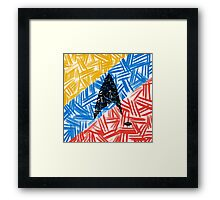 Starfleet Abstracted by VIXTOPHER Framed Print