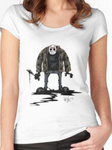 Jason Vorhees Women's Fitted Scoop T-Shirt