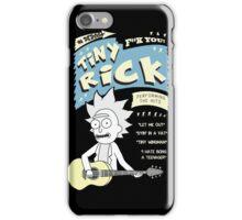 Tiny Rick Concert T-Shirt iPhone Case/Skin