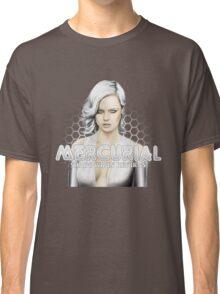 Mercurial #4 - White bg circular Classic T-Shirt