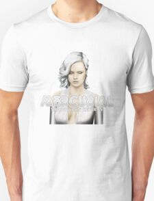 Mercurial #4 - White bg circular Unisex T-Shirt