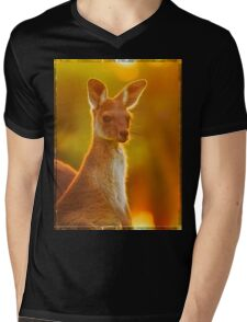 Sunset Joey, Yanchep National Park Mens V-Neck T-Shirt