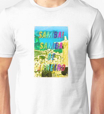 Samba de Janeiro – A Hell Songbook Edition - Paralympic Games Rio de Janeiro - Brazil Unisex T-Shirt