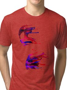 spiderman stain Tri-blend T-Shirt