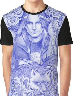 - Moon Fox - Graphic T-Shirt
