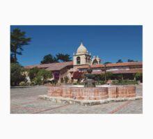 The Courtyard Fountain, Carmel Mission Kids Tee
