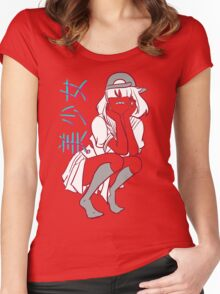 Girl= Women's Fitted Scoop T-Shirt