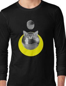 Disco kitty Long Sleeve T-Shirt
