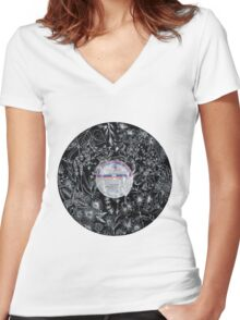 Lullaby Women's Fitted V-Neck T-Shirt