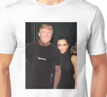 Donald trump Supreme tee Kim Kardashian fashion Unisex T-Shirt
