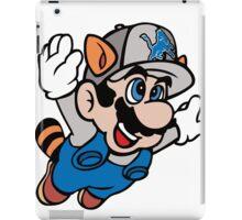 Super NFL Bros. - Lions iPad Case/Skin