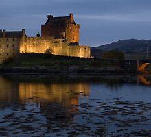 Eilean Donan Castle on Loch Duich by davidrichardson