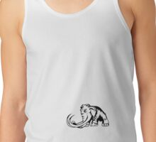 Mammoth Logo clear Tank Top