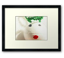 Contemporary Christmas - Little Angel Framed Print