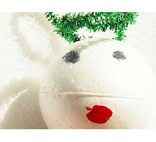 Contemporary Christmas - Little Angel Photographic Print