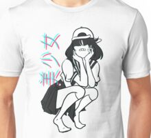 girl- [update w/ bandaid] Unisex T-Shirt