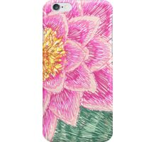 lily pond in the botanic garden iPhone Case/Skin