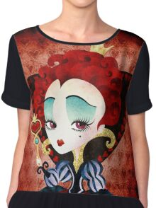 Queen of Hearts Chiffon Top