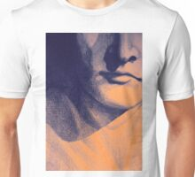 Detail drawing of man face Unisex T-Shirt