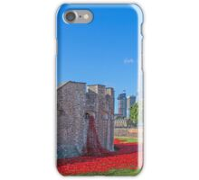 Poppies in the Moat iPhone Case/Skin