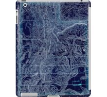0174 Railroad Maps Indexed map of Utah with a new and original compilation and Inverted iPad Case/Skin