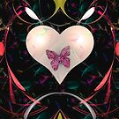 Butterfly Heart by Pam Amos