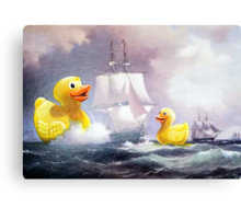 Terror on the High Seas 2 Canvas Print