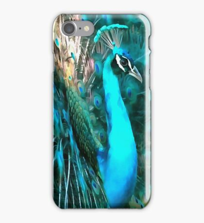 Peacock Plumage iPhone Case/Skin