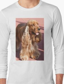 cocker dog Long Sleeve T-Shirt