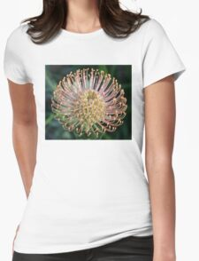 Happy Leucospermum Womens Fitted T-Shirt