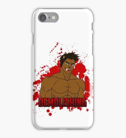Brock Brock - El Demoledor iPhone Case/Skin