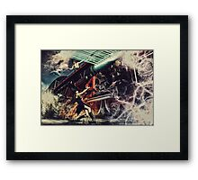 Witch stop train Framed Print