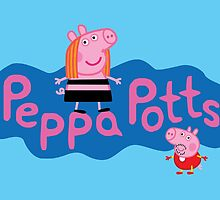 Peppa Potts by mjcowan