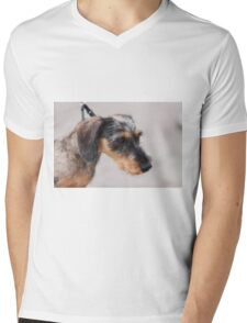 cute dog Mens V-Neck T-Shirt