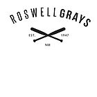 X Files: Roswell Grays Baseball by CowBeck