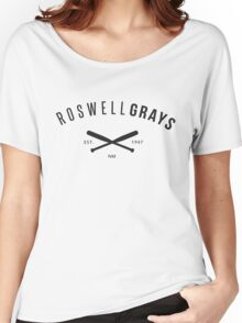 X Files: Roswell Grays Baseball Women's Relaxed Fit T-Shirt