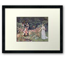 Not the Gardener Framed Print